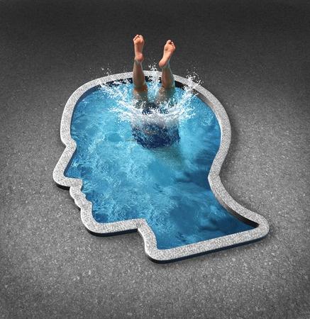 Bócio mergulhante